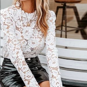 🌸New🌸Chic Lace Blouse
